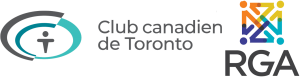 Logo Club CAnadien de Toronto and regroupement gens D'affairs
